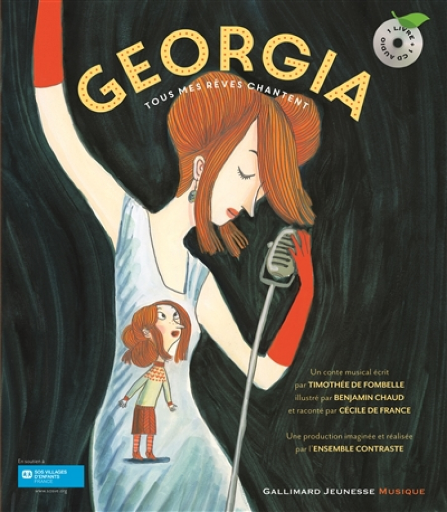 Georgia. Tous mes rêves chantent